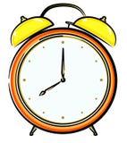 vecteur d'horloge d'alarme Images libres de droits