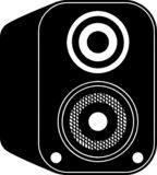 Vecteur d'icône de haut-parleur illustration de vecteur