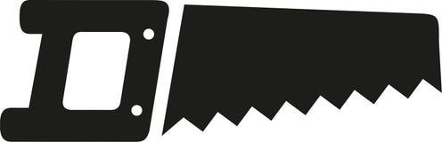 Vecteur d'icône de scie illustration libre de droits