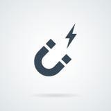 Vecteur d'icône d'aimant illustration stock
