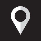 Vecteur d'icône de Pin Photographie stock libre de droits