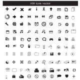 Vecteur d'icônes Photographie stock libre de droits