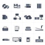 Vecteur d'icônes d'ordinateur Photo libre de droits