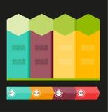 Vecteur d'infographic Photo stock