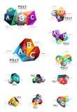 Vecteur d'infographics d'ABC Image stock