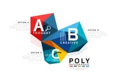 Vecteur d'infographics d'ABC Photographie stock libre de droits