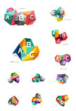 Vecteur d'infographics d'ABC Images stock