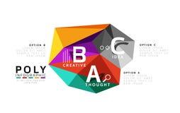 Vecteur d'infographics d'ABC Photographie stock