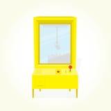 Vecteur d'isolement par machine de griffe Photo stock