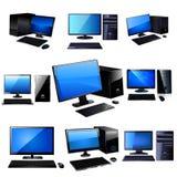Vecteur d'ordinateur Photo stock