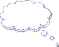 Vecteur de ballon de pensée illustration de vecteur