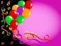 Vecteur de ballons Images stock