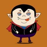 Vecteur de bande dessinée de Dracula illustration stock