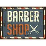 Vecteur de Barber Shop Sign Signage de raseur-coiffeur illustration libre de droits