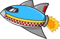 Vecteur de bateau de Rocket   Photos stock