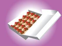 Vecteur de boîte à sucrerie Photo libre de droits