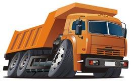 vecteur de camion à benne basculante de dessin animé Photos stock