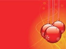 Vecteur de carte de Noël Photographie stock