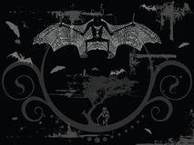 Vecteur de cauchemar - 'bat' Image stock