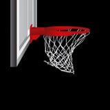 Vecteur de cercle de basket-ball Photos libres de droits