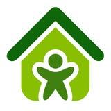 Vecteur de Chambre verte Image stock