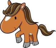 Vecteur de cheval Images libres de droits