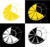 Vecteur de citron Photo libre de droits