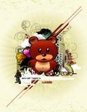 vecteur de composition de l'Asie illustration de vecteur
