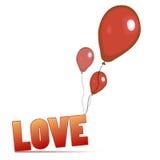 Vecteur de conception d'amour illustration libre de droits