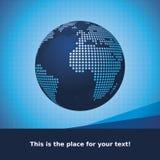 Vecteur de conception de globe Images libres de droits