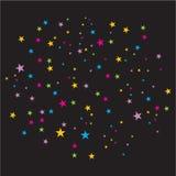 confettis de vecteur photographie stock
