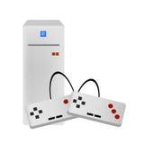 Vecteur de console de jeu vidéo Photos libres de droits
