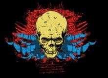 Vecteur de crâne Image libre de droits