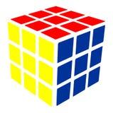 Vecteur de cube en ` s de Rubik Photos stock