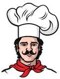 Vecteur de cuisinier de chef Images libres de droits