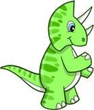 Vecteur de dinosaur de Triceratops Images libres de droits