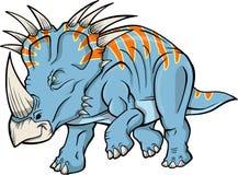 Vecteur de dinosaur de Triceratops Images stock