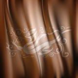 Vecteur de Dragon Pattern Silk Fabric Background Photographie stock libre de droits