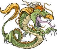 Vecteur de dragon vert
