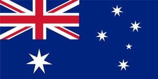 Vecteur de drapeau d'Australie Illustration de drapeau d'Australie illustration stock
