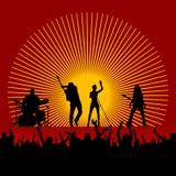 Vecteur de festival de musique Image stock