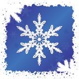 vecteur de flocon de neige de fond Image libre de droits