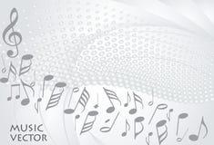 Vecteur de fond de musique illustration libre de droits