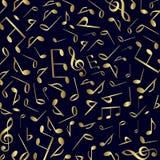 Vecteur de fond de symboles de musique illustration libre de droits