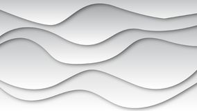 Vecteur de fond gris de vagues avec l'ombre noire illustration de vecteur