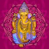 Vecteur de Ganesha de Dieu Image stock