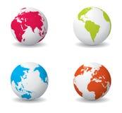 Vecteur de globe illustration de vecteur