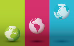 Vecteur de globe illustration stock