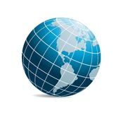 Vecteur de globe du monde illustration de vecteur