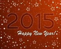 Vecteur de graphique abstrait et de fond de nouvelle année Photos stock